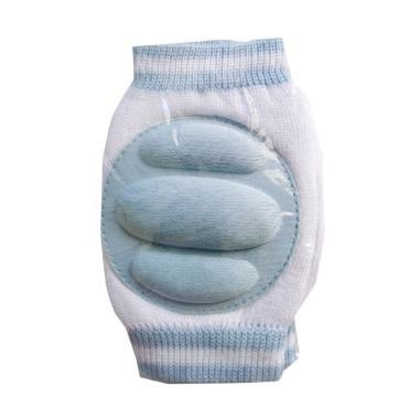 MOM Baby Knee Protector Polos Pelindung Lutut Bayi - Blue