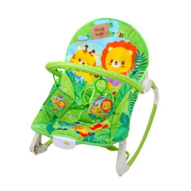 Sugar Baby My Rocker 3 Stages Little Jungle Baby Bouncer