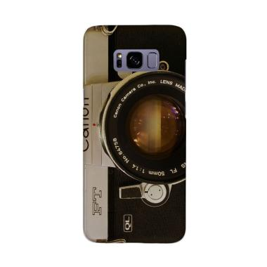 Indocustomcase Camera Canon FT QF Cover Casing for Samsung Galaxy S8