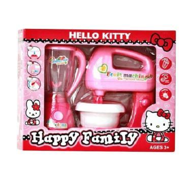 Blender Mixer Hello Kitty Mainan Anak DN 6238