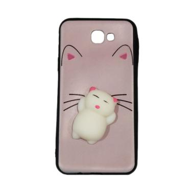 Winner Squishy Lazy Cat Softcase Casing for Samsung Galaxy J7 Prime