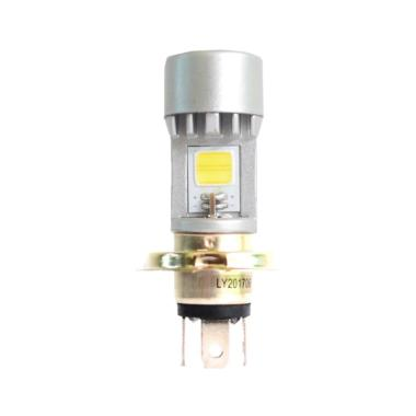 Tyto H4 AC DC 2 Sisi Tyto 12W 35V Lampu Depan LED - Silver Putih  [DOH9064-Putih]