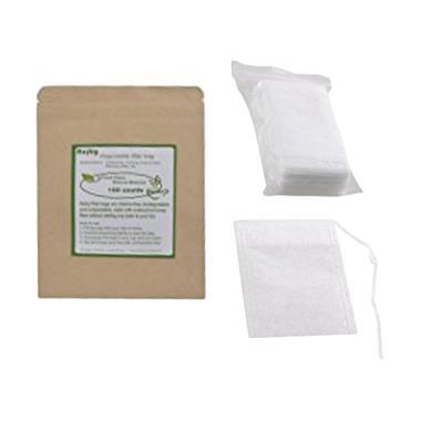 Flonel Teabags Empty Scented Tea Ba ... lter 5.5 x 7 cm [100 pcs]