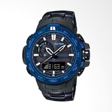 CASIO Pro Trek Tough Solar Jam Tang ... ck Blue [PRW-6000SYT-1DR]