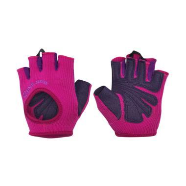 Zuna Sport Ladies Sweet Plum Fitness Gloves Sarung Tangan Wanita - Red