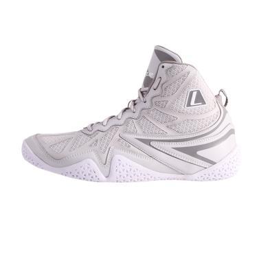 League Typhoon Sepatu Basket Pria - Grey