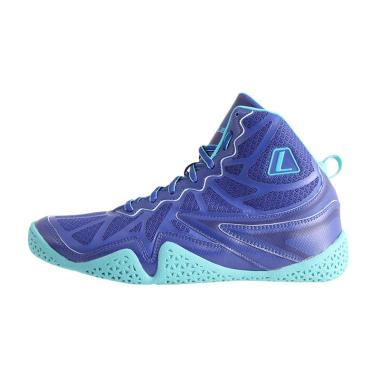 League Typhoon Sepatu Basket Pria - Blue