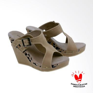 Garsel GRD 4274 Sandal Wedges Wanita