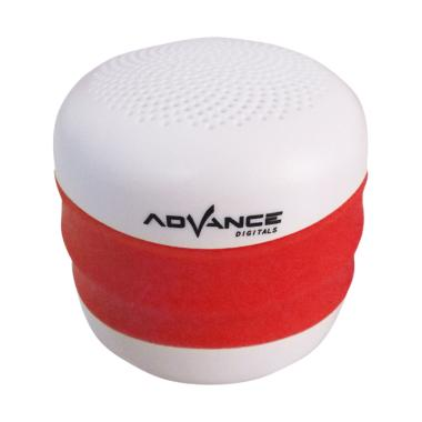 Advance ES-030J NEW Model Bluetooth with FM Speaker Portable - Merah