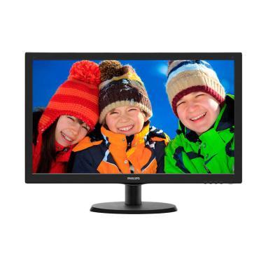 Hot Deals -PHILIPS 223V5LHSB/70 Monitor Komputer [21.5 Inch]