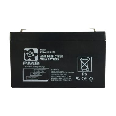 Ocean Toy Battery Replacement for PMB Mainan Mobil Aki
