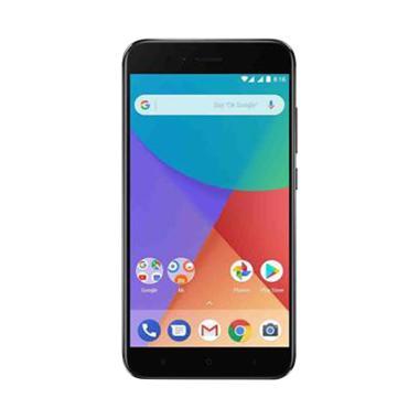 Xiaomi Mi A1 Smartphone - Black  [64GB/ 4GB] - Garansi TAM