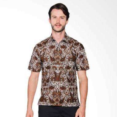AWANA Modern Slim Fit Garuda Kemeja Batik Pria