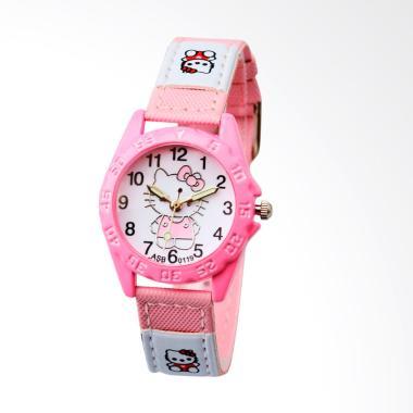 Hello Kitty WAT1507F Children Watch Jam Tangan - Pink