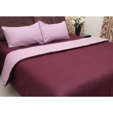 Chelsea Gold Polos Set Sprei - Deep Purple
