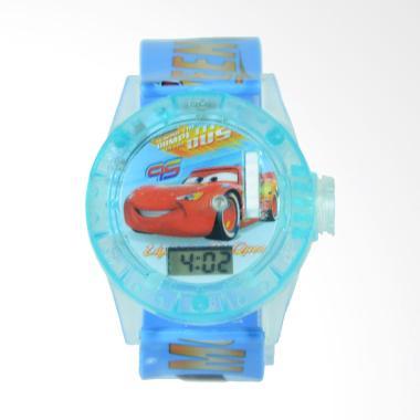 OEM Projector Cars Jam Tangan Anak Laki-laki - Biru Muda