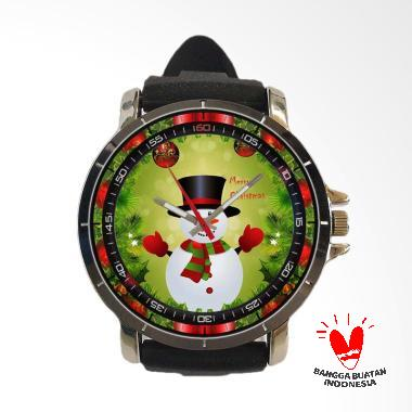 Fika Art 13 Holiday Merry Christmas ... er Custom Jam Tangan Pria