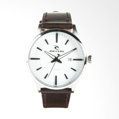 Rip Curl Agent Leather Jam Tangan Pria - White [A2918 1000]