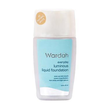 Wardah Luminous Foundation - Natural White [40 mL]