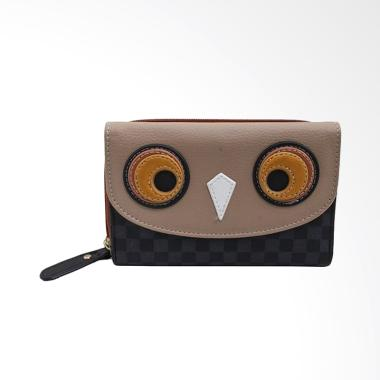 Chatelain DCH470220 Owl Dompet Wanita Cewek - Black