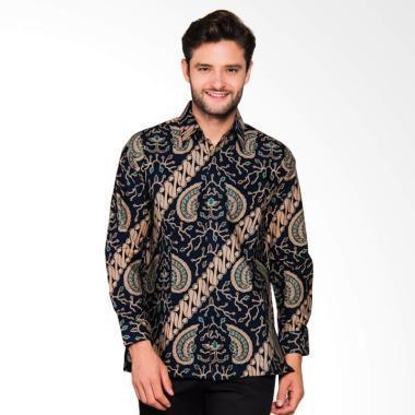 Adiwangsa Model Modern Slim Fit Baju Kemeja Batik Pria 024