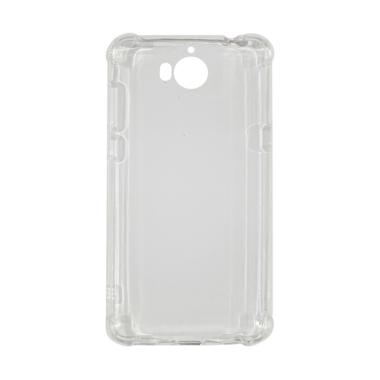 Winner List Anti Crack Anti Shock Silicon Softcase for Huawei Y5 [2017] - Transparent