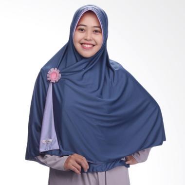 Pricilla Bolak-Balik P18 Jilbab Instant - Denim