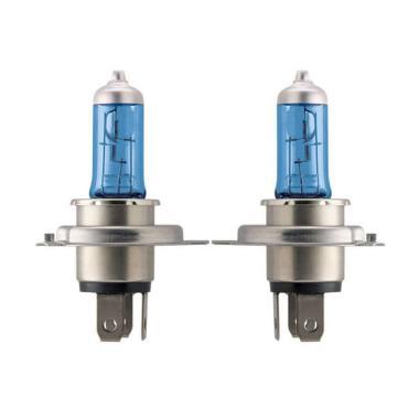 PHILIPS Crystal Vision H4 4300K Lampu Halogen