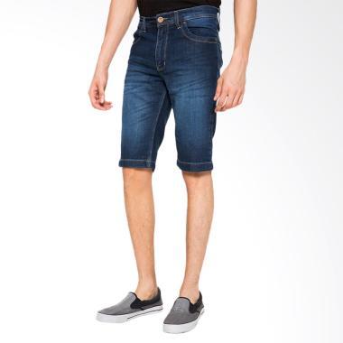2nd RED Short Pants Denim Celana Pendek Pria - Biru Muda [151625]