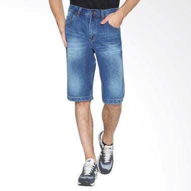 2Nd RED Denim FS Short Pants Celana Pendek Pria - Biru [151642]