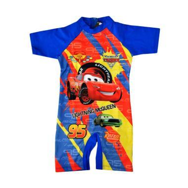 Nice Baby Motif Mc Queen Baju Renang Anak - Biru