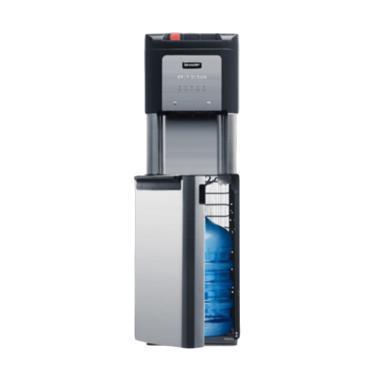 SHARP SWD73EHLBK Water Dispenser - Black [Khusus Jadetabek]