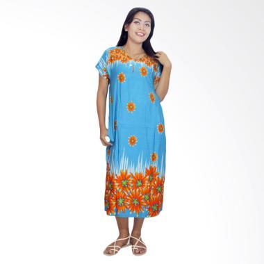 Batik Alhadi DPT001-62C Daster Kancing Baju Tidur Lengan Pendek