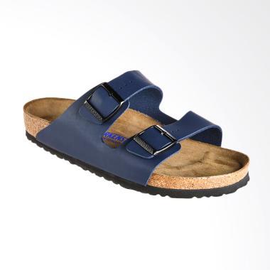 Birkenstock Arizona Birk Sandal Pria - Blue [051061]