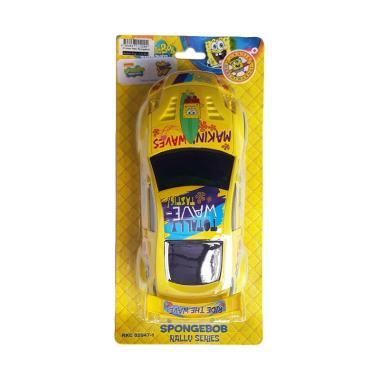 MOMO Pull And Go Sedan Spongebob Mainan Mobil Anak