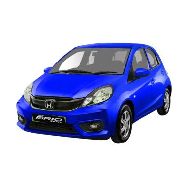 Honda Brio Satya 1.2 S Mobil - Brilliant Sporty Blue Metallic