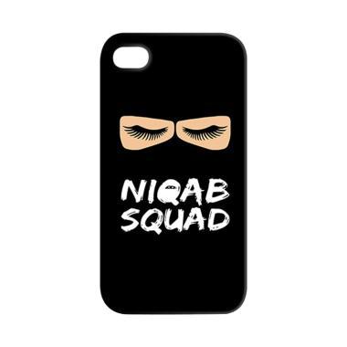 Premiumcaseid Hijab Niqab Squad Har ...  or iPhone 4s - Jet Black