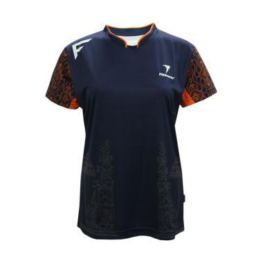 Flypower Batur Kaos Badminton Wanita - Navy