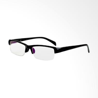 Universal Kacamata Lensa Plus dan Baca - Black [+3.50]