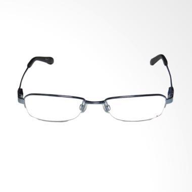 OEM Frame Halfrim Kacamata Plus dan Baca - Black [+250]