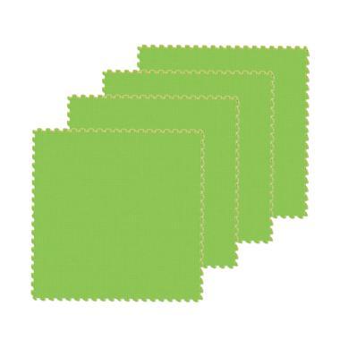 Evamat Polos Puzzle - Hijau Muda [4 pcs]