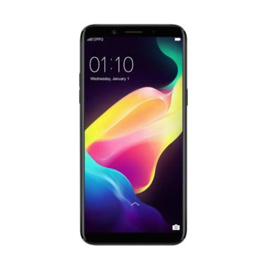 OPPO F5 Youth Smartphone - Black [32 GB/3 GB] + Free Tongsis