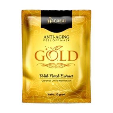 harga Hanasui Gold Anti Aging Masker Wajah Blibli.com