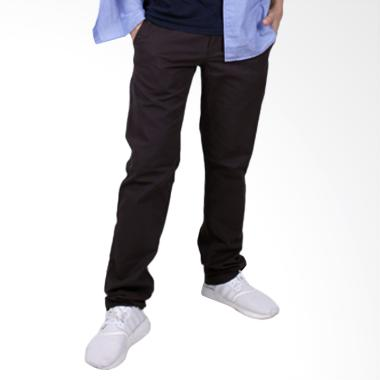 Coup Men Straight Long Celana Panjang - Dark Grey d56e568c55