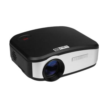 CHEERLUX C6 Mini LED Projector 1200 Lumens with TV Tunner - Black