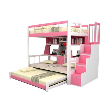 Funkids 01-100 TL Nouva Set Tempat Tidur Anak - Pink