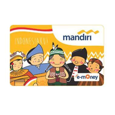 Mandiri E-Money Edisi Ulang Tahun Indonesia [Pakaian Adat]