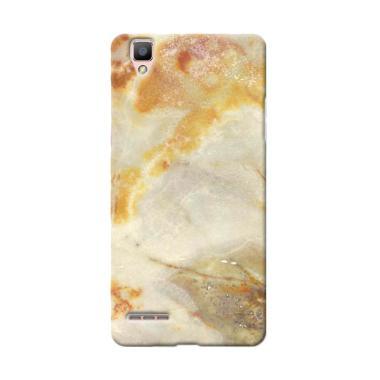 Premiumcaseid Cool Rusty Marble Ceramic Hardcase Casing for OPPO F1 Plus