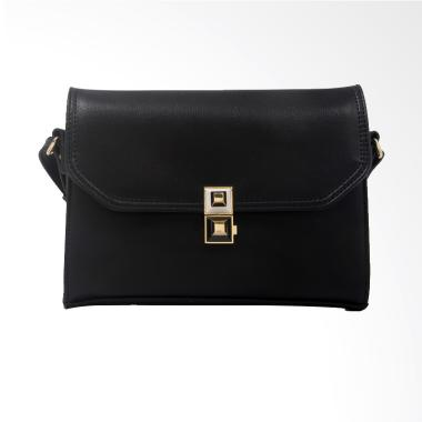 Elizabeth Bag Laurel Sling Bag - Hitam