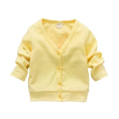 Abby Baby Cardigan Baju Anak - Yellow